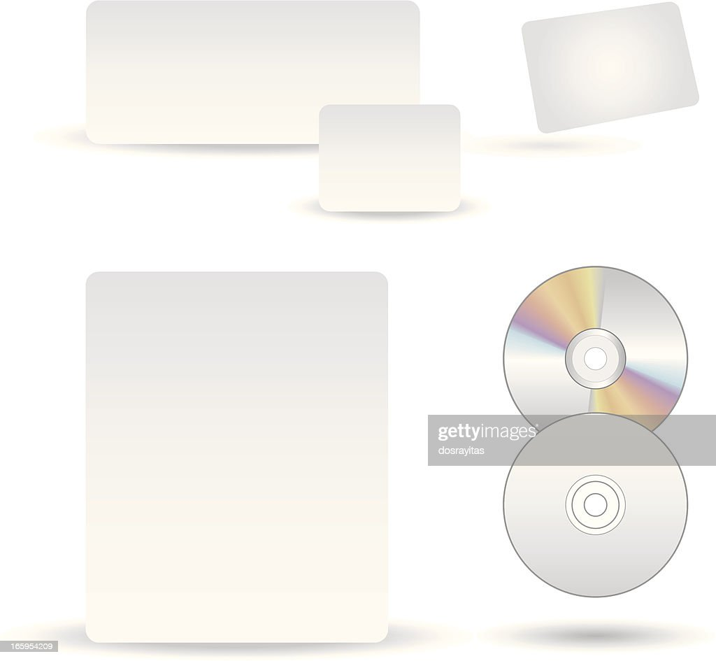 stationery cd design template vector art getty images