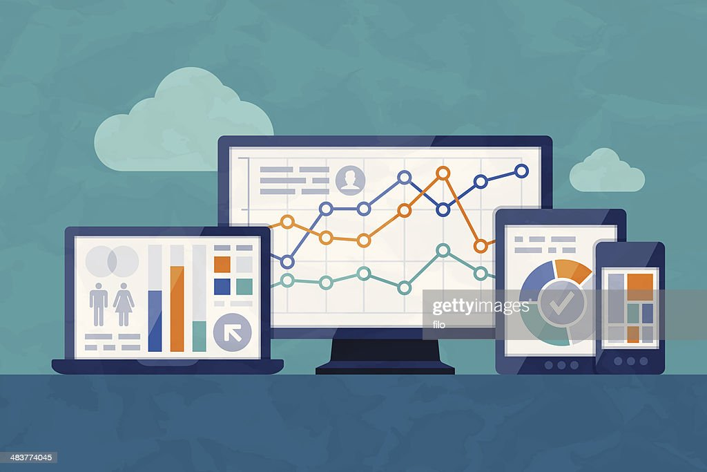 Statistics and Analysis : Stock Illustration