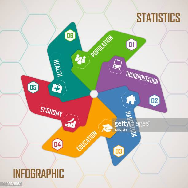 ilustraciones, imágenes clip art, dibujos animados e iconos de stock de estadísticas infografía - molino de viento