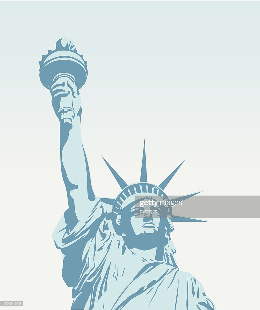 Statue of Liberty - Vector