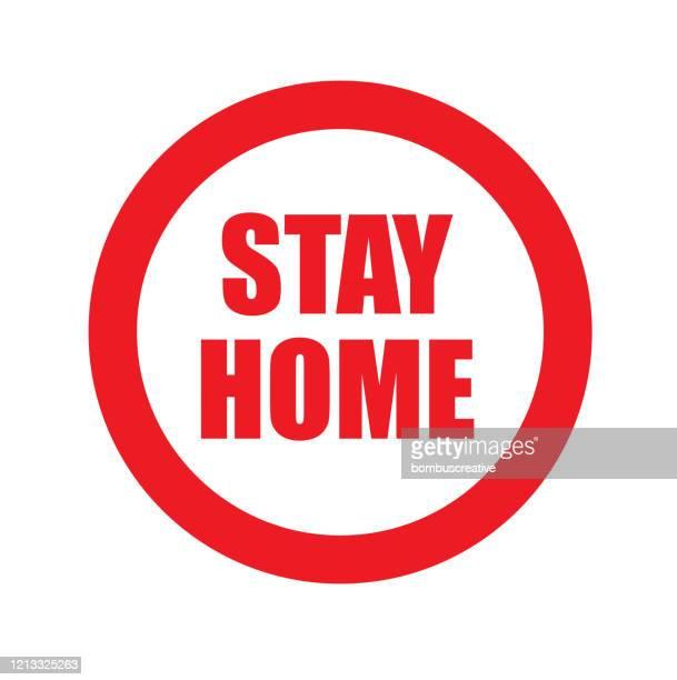 stay and stop sign - corona sun stock-grafiken, -clipart, -cartoons und -symbole