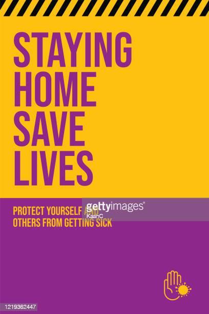 家にいなさい。武漢コロナウイルス流行インフルエンザは、パンデミックコンセプトバナーフラットスタイルイラストイラストイラストとして危険なインフルエンザ株症例として - メートル点のイラスト素材/クリップアート素材/マンガ素材/アイコン素材