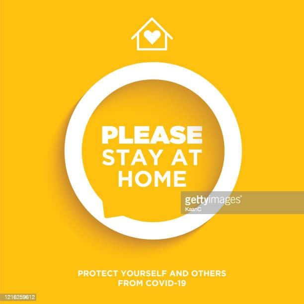 stay home concept. wuhan coronavirus outbreak influenza as dangerous flu strain cases as a pandemic concept banner flat style illustration, covid-19 stock illustration stock illustration - wuhan stock illustrations