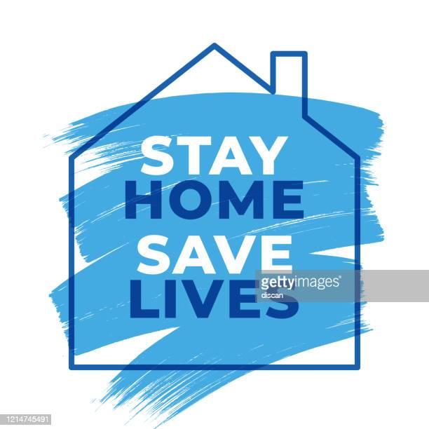 家に滞在命を救うハッシュタグ検疫、コロナウイルス流行ベクトルイラスト、家にいるセーブ命ハッシュタグ検疫、コロナウイルス流行ベクトルイラスト - 活動家点のイラスト素材/クリップアート素材/マンガ素材/アイコン素材