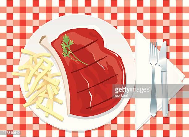 steak - sirloin steak stock illustrations, clip art, cartoons, & icons