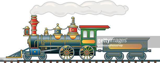 Steam Locomotive and Tender