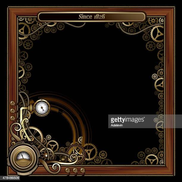 Steampunk frame concept