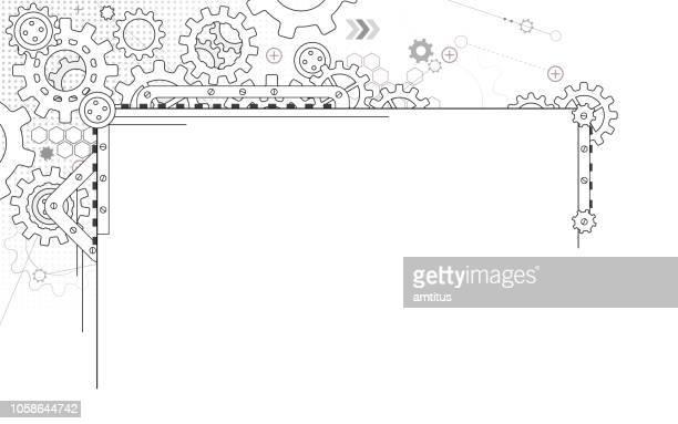 steampunk - steampunk stock illustrations