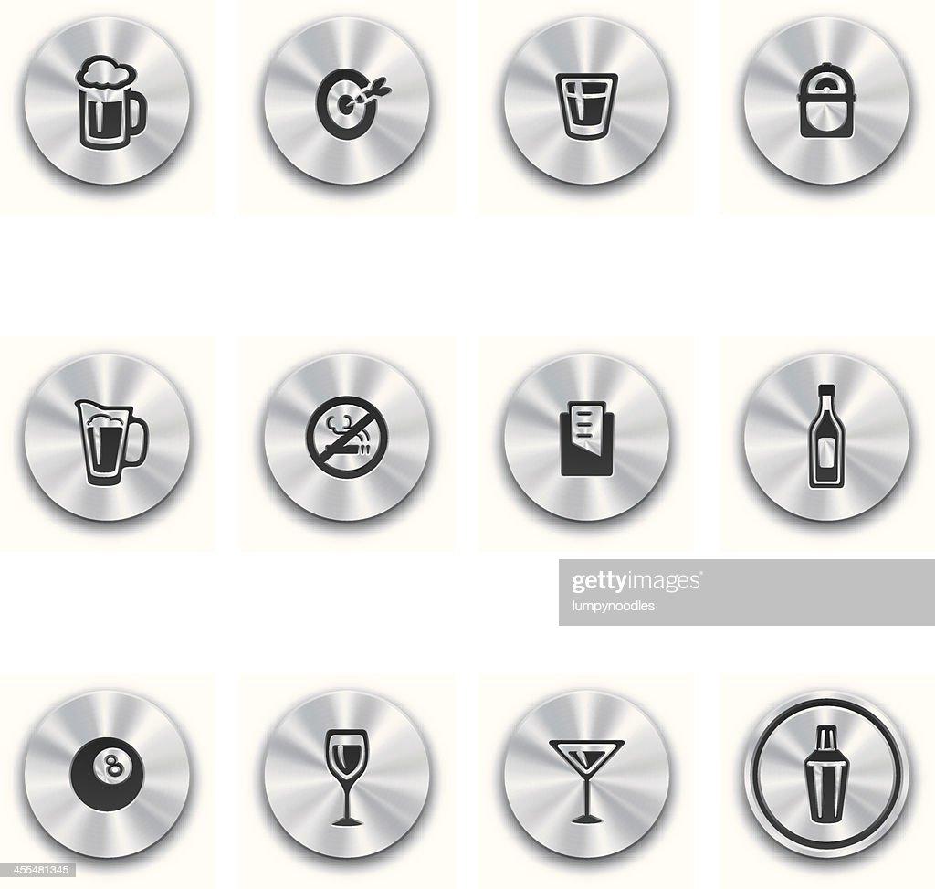 Steel Bar Buttons