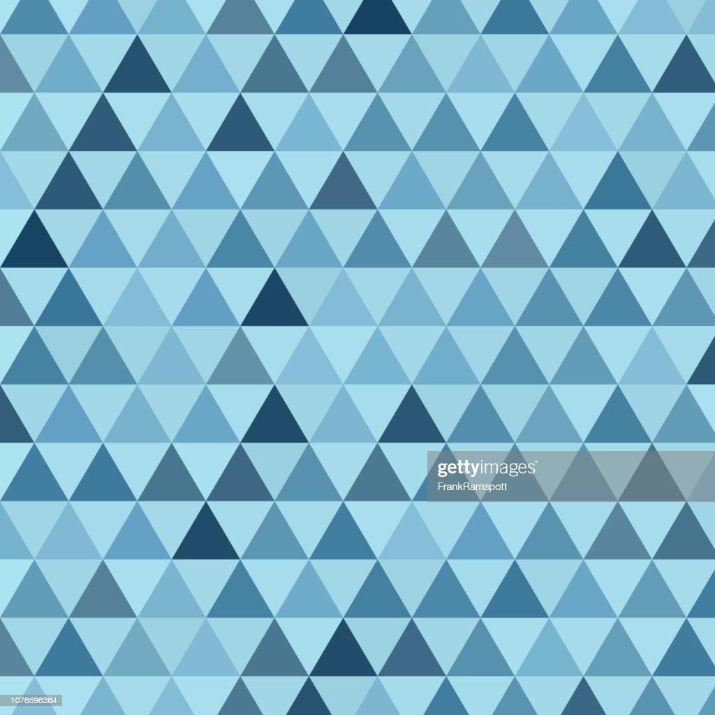 Stahl gleichseitiges Dreieck Vektormuster : Vektorgrafik