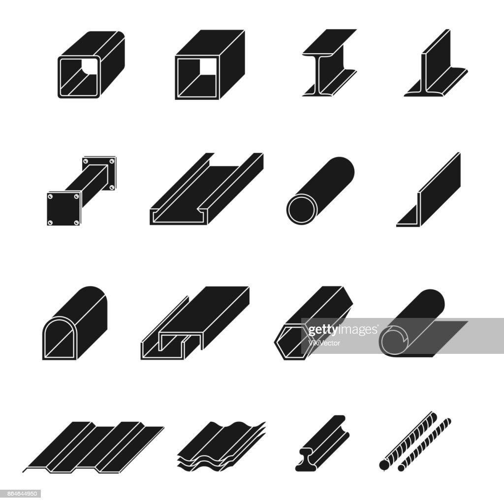 Steel product set