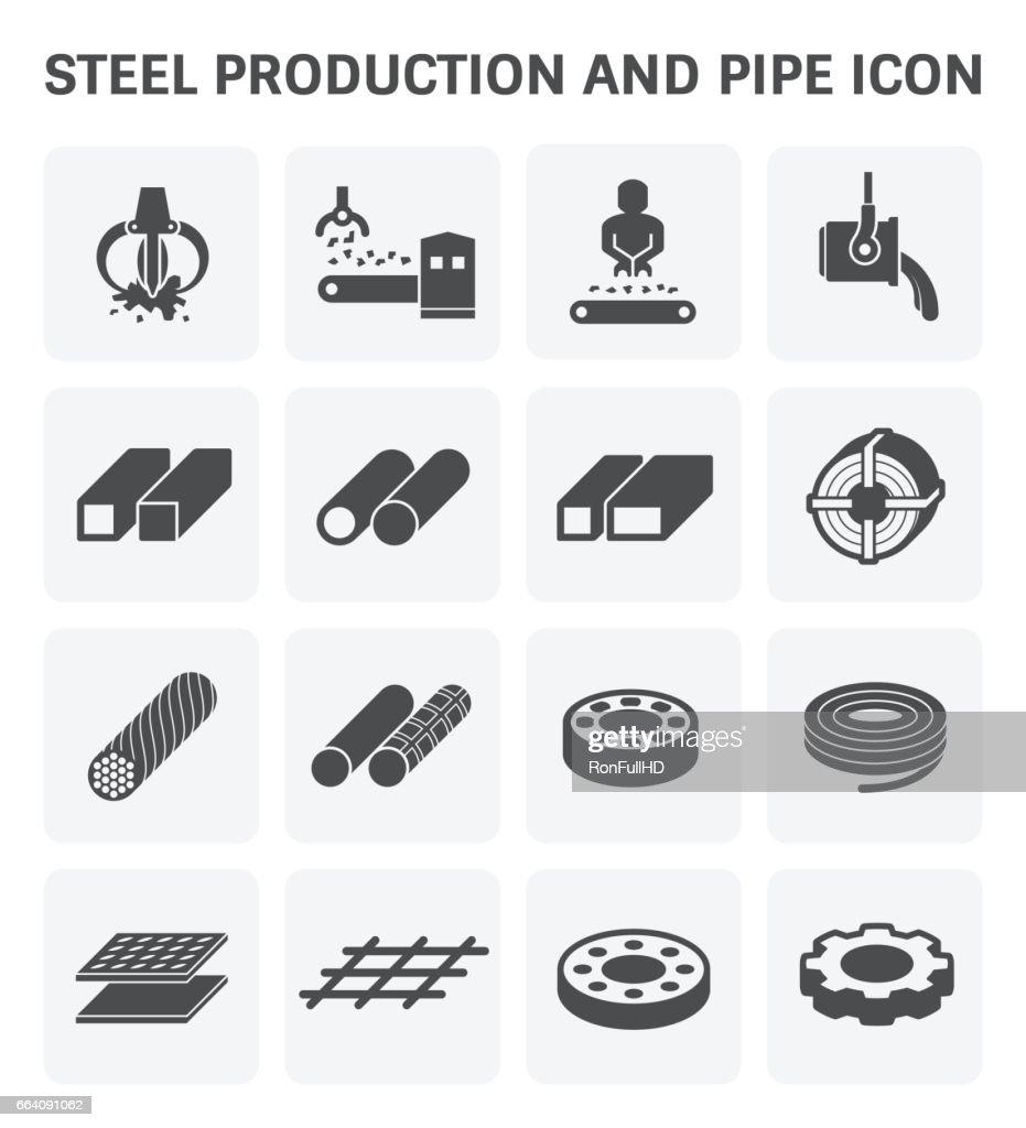 Stel Metal Icon