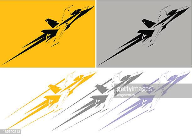 f-18 stencil - fa 18 hornet stock illustrations