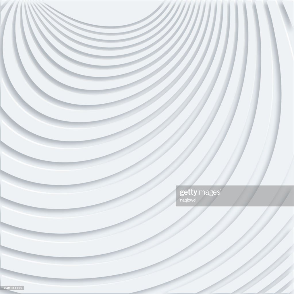 Stereoscopic Stripe Seamless Pattern
