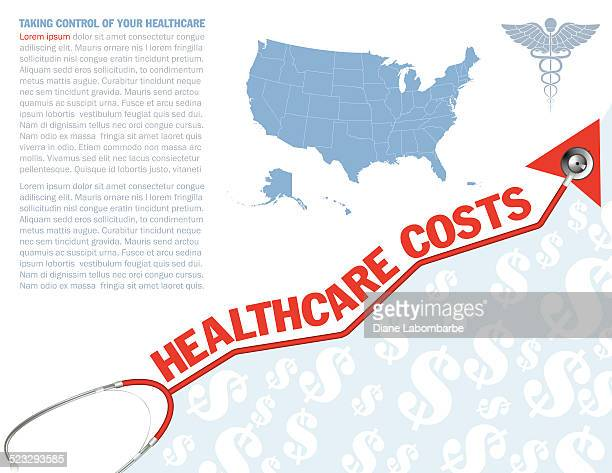 Stethoscope Healthcare Costs Arrow - United States
