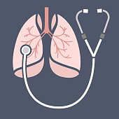 Stethoscope lungs Icon