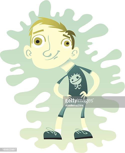 steve with a splat - slimy stock illustrations, clip art, cartoons, & icons
