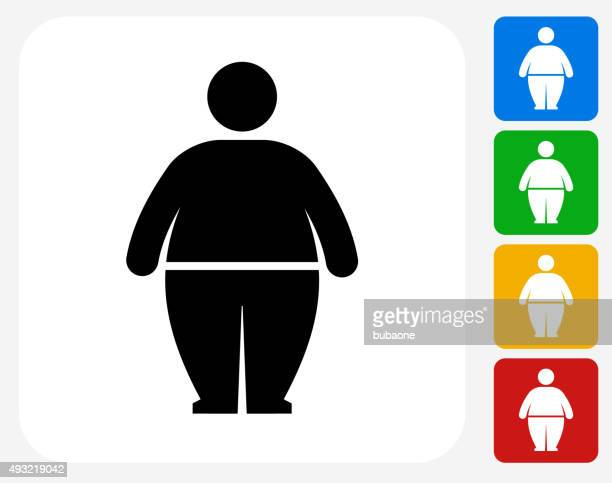 overweight stock illustrations and cartoons getty images