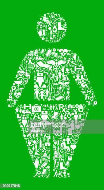 kleben von figur und gewicht-verlust-grün medizinische rehabilitation physikalische therapie - work romance stock-grafiken, -clipart, -cartoons und -symbole