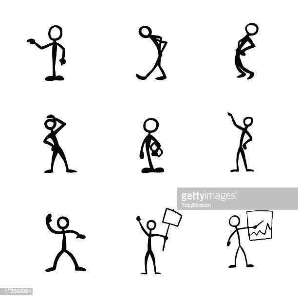 Stick Figure People Activities