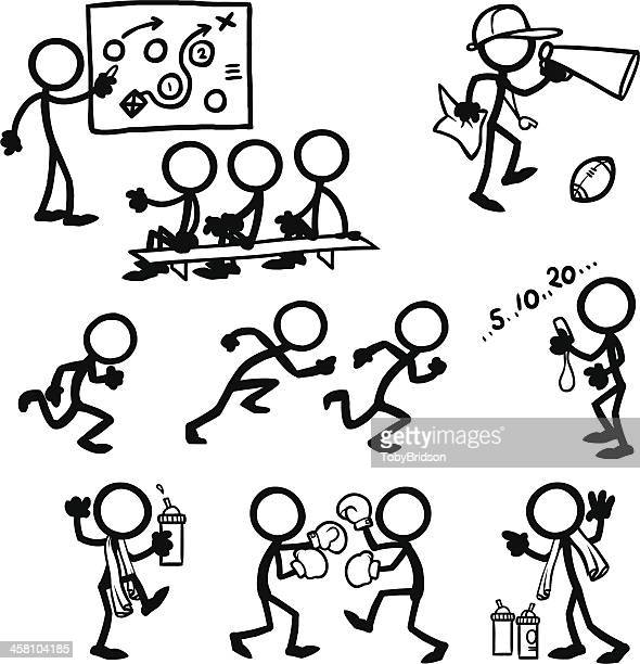 Stick Figure People Coaching Training