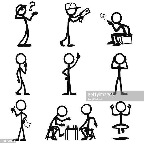 Stick Figure People Thought