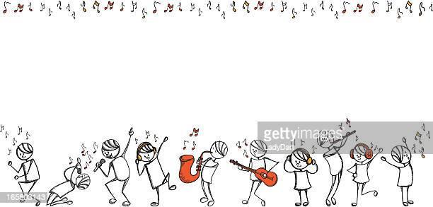 Personas música de memoria serie
