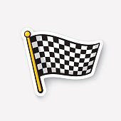 Free download of Racing Flag vector graphics and illustrations