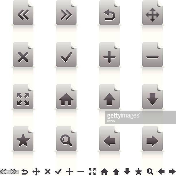 Sticker Icons Set | Web & Internet