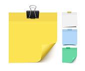 Sticky note paper set