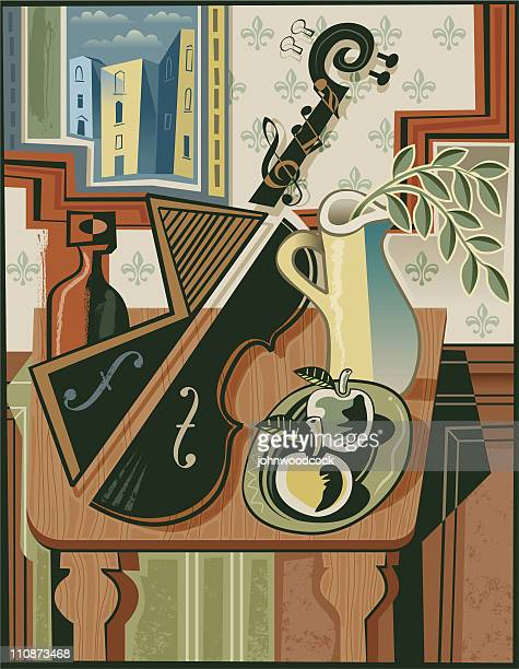 Still life with music