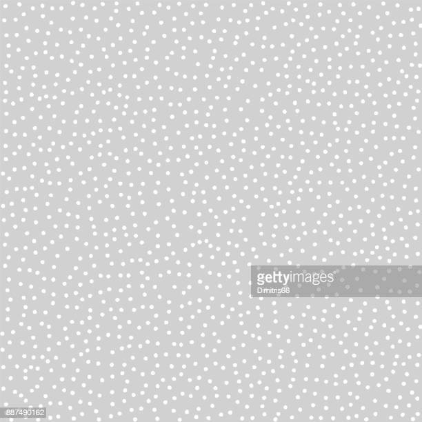 Stippled vector texture background - White dots on gray