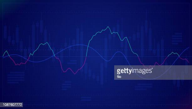 illustrazioni stock, clip art, cartoni animati e icone di tendenza di stock chart - dati