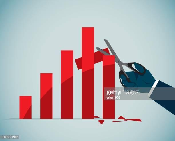 stock market crash - stock market crash stock illustrations
