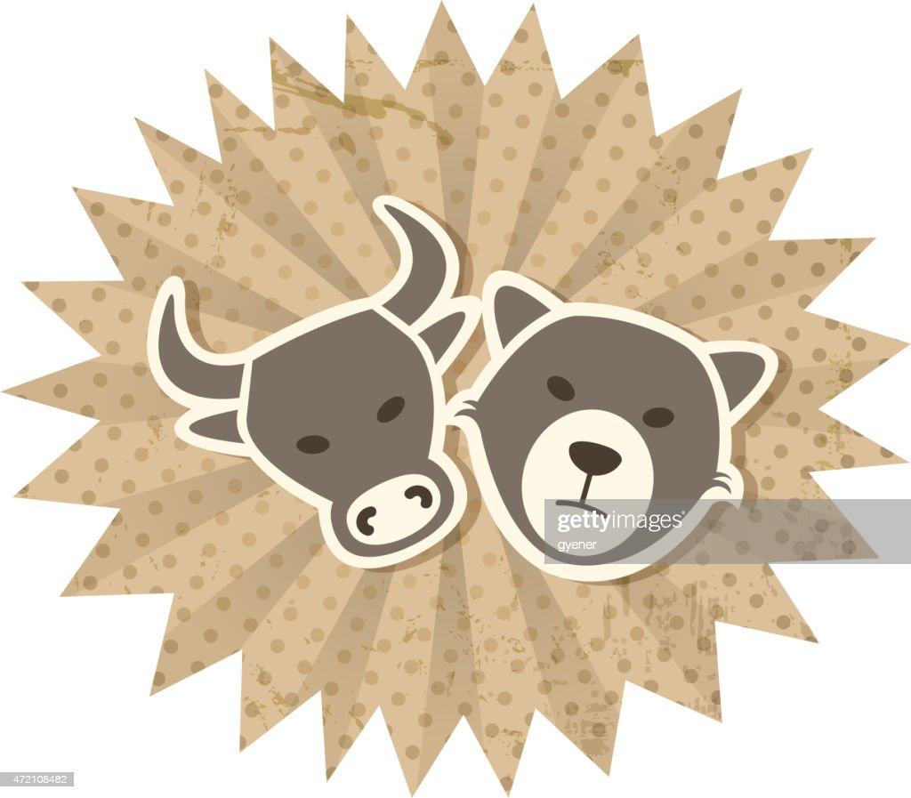 Stock Market Symbols Vector Art Getty Images