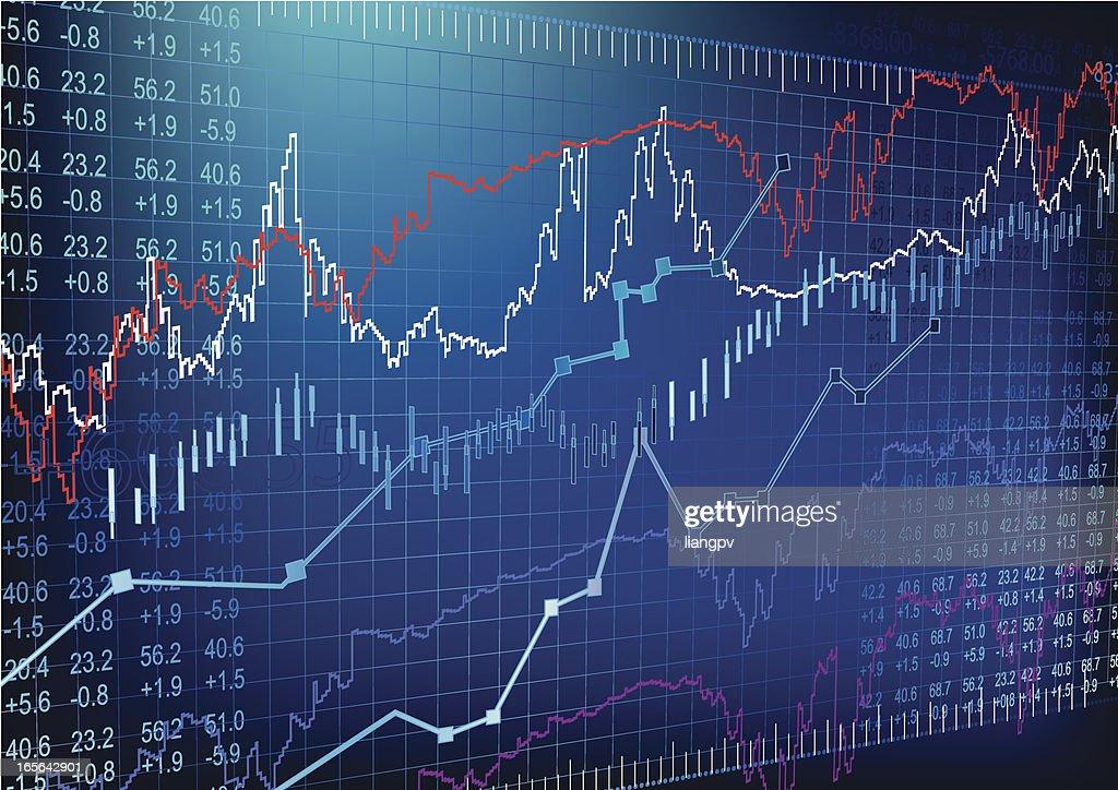 Stock Market : stock illustration