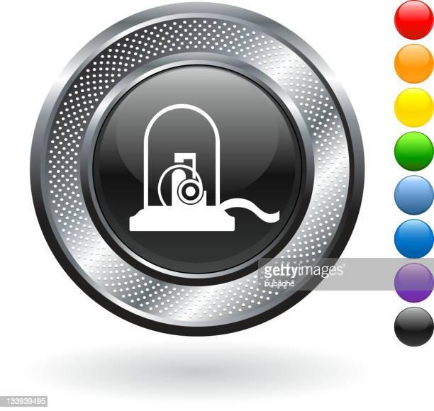 紙ふぶきロイヤリティフリーのストックベクトルアートにメタリックのボタン - 紙テープ点のイラスト素材/クリップアート素材/マンガ素材/アイコン素材