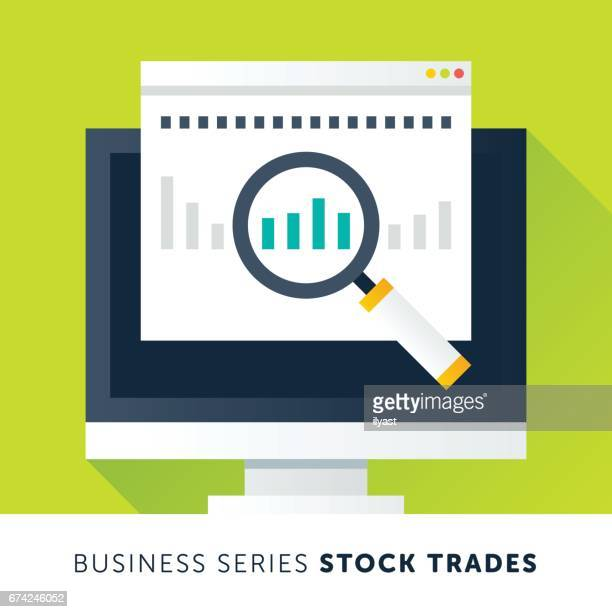 stock trades - stock certificate stock illustrations