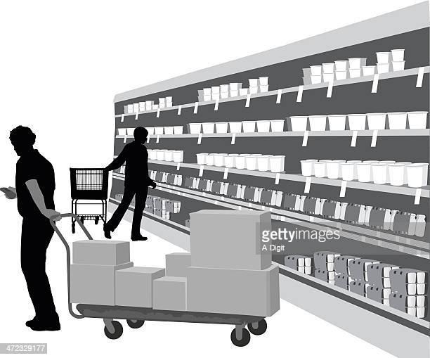 illustrations et dessins anim s de rayon magasin getty images. Black Bedroom Furniture Sets. Home Design Ideas