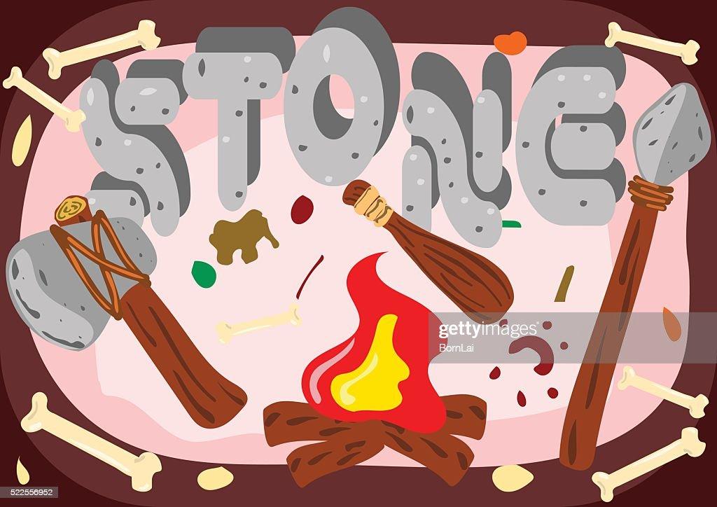 stone age cave life