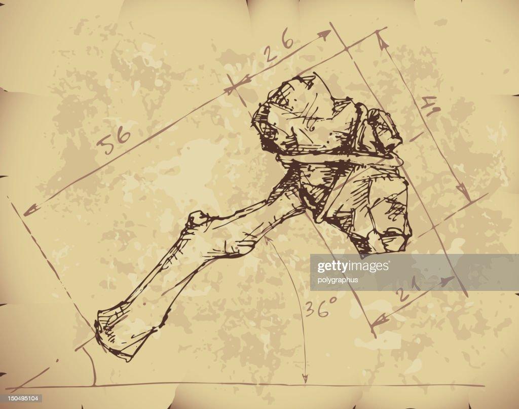 Stone axe draft
