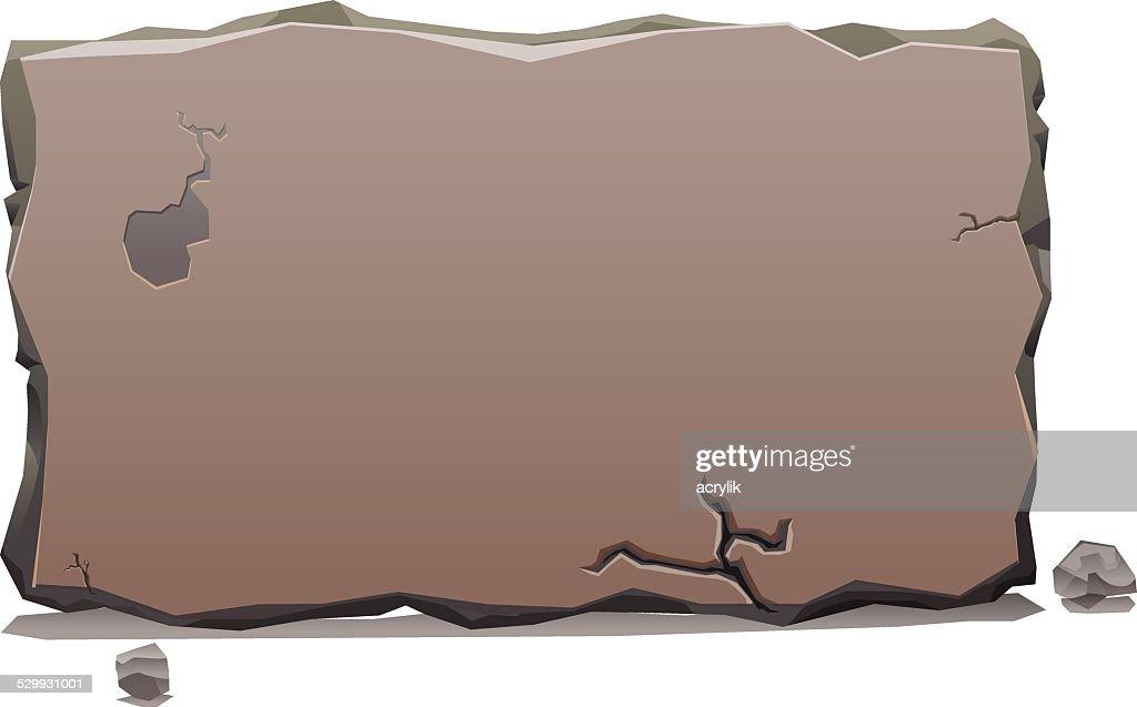 Stone Slab banner vector
