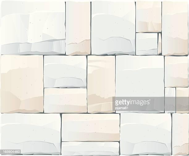 stone - stone wall stock illustrations