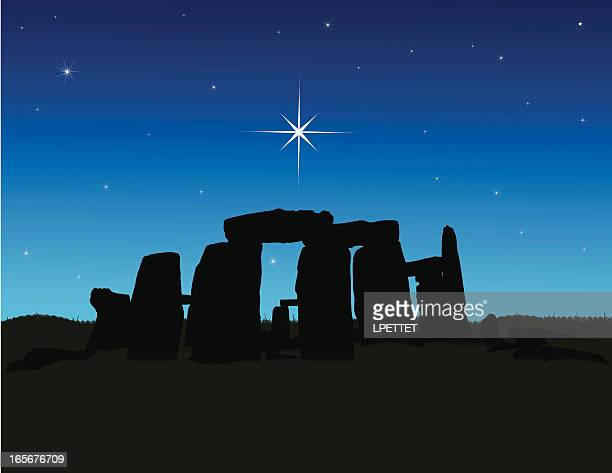 stonehenge - natural arch stock illustrations, clip art, cartoons, & icons