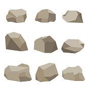 Stones, a set of stones