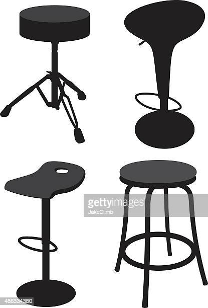Tabouret Silhouettes 2