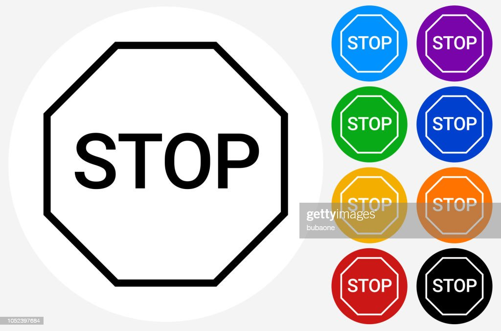 Stop Sign Icon High Res Vector Graphic Getty Images
