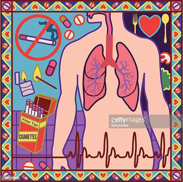 stop smoking design - quitting smoking stock illustrations, clip art, cartoons, & icons