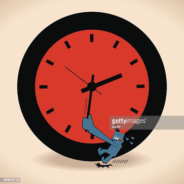 stop time - intermission stock illustrations