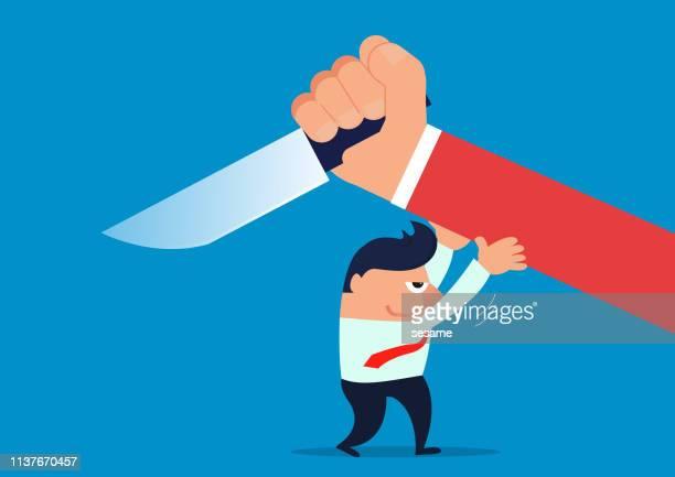 stop violence - office politics stock illustrations, clip art, cartoons, & icons
